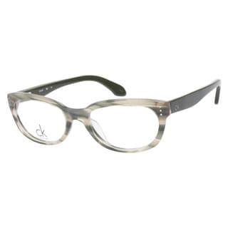 Calvin Klein CK5728 746 Marble Green Prescription Eyeglasses