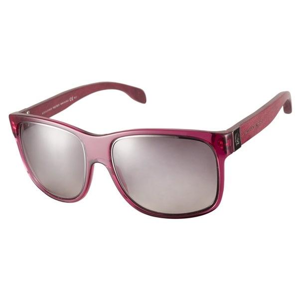 Alexander McQueen AMQ4187S 08T N3 Fuchsia Sunglasses