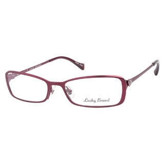 Lucky Maggie Burgundy Prescription Eyeglasses