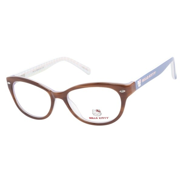 Hello Kitty HK229 1 Honey Prescription Eyeglasses