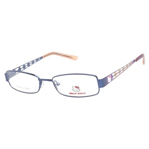 Hello Kitty HK230 3 Blue Prescription Eyeglasses