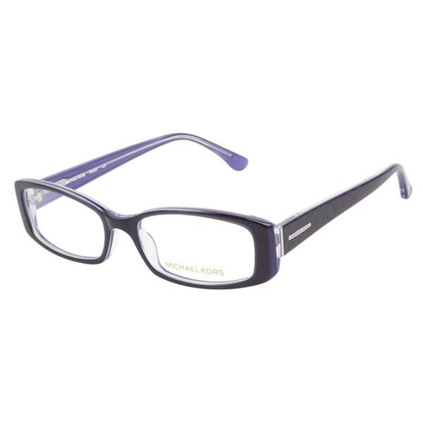 michael kors mk220 424 blue prescription eyeglasses