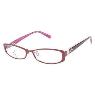 Calvin Klein CK5283 614 Burgundy Prescription Eyeglasses