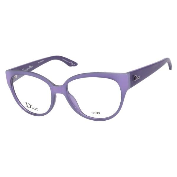 Christian Dior CD3212 O5R Violet Prescription Eyeglasses ...