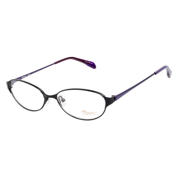 Thalia Irma BK Black Prescription Eyeglasses