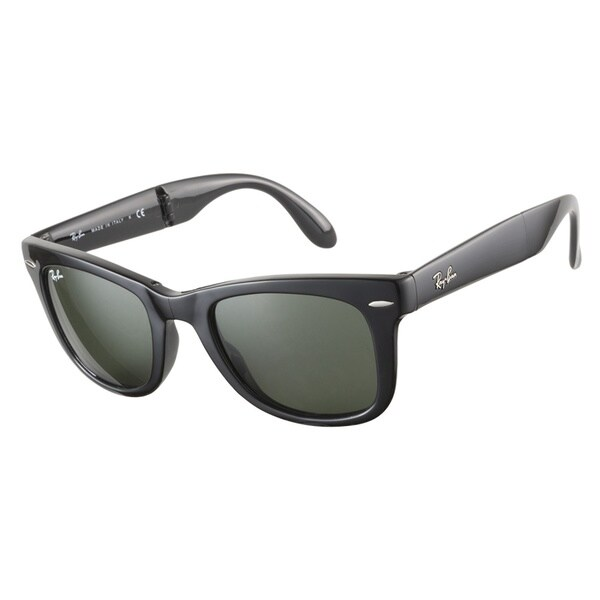 Ray-Ban RB4105 601 Folding Wayfarer Black 50 Sunglasses