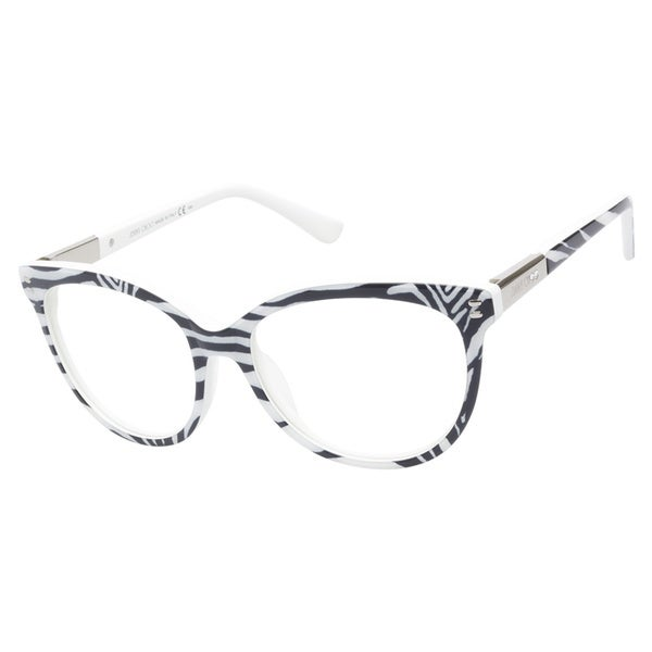 Zebra Eyeglass Frames : Jimmy Choo 63 N6C Zebra Print Prescription Eyeglasses ...