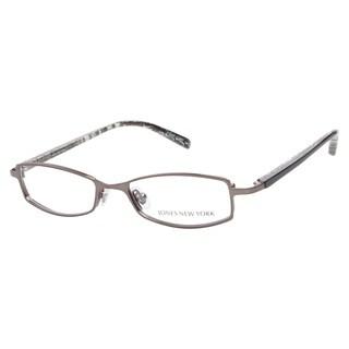 Jones New York 400 Gunmetal Prescription Eyeglasses