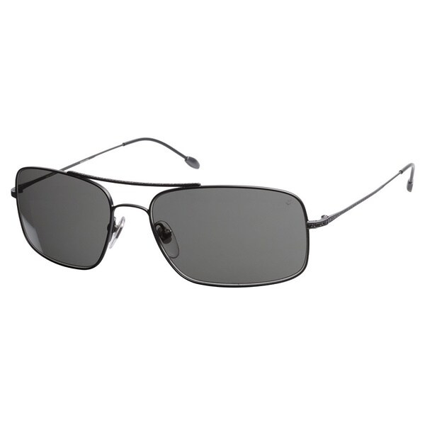 John Varvatos V760 Gunmetal 57 Sunglasses