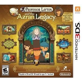 Nintendo 3DS - Professor Layton & The Azran Legacy