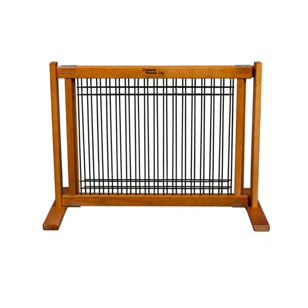 Kensington 20-inch Wood/ Wire Free-standing Gate