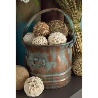 Rustic Copper 3-piece Planter Set