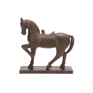 Horse Polystone Table-top Sculpture
