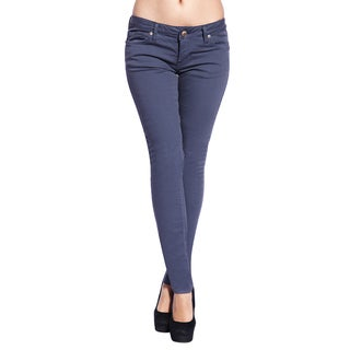 Stitch's Women's Slim Fit Bright Medium Denim Skinny Jeans