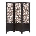 Room Dividers Wood Screen 3 Panel