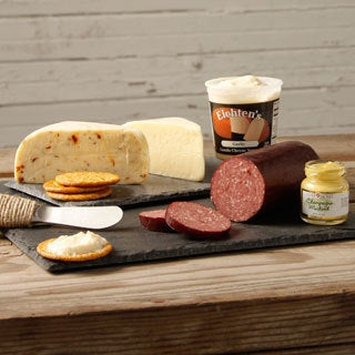 Eichten's Artisan Cheese and Summer Sausage Snack Box Assortment