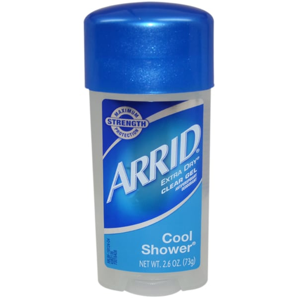 Arrid Extra Dry Cool Shower Clear Gel Deodorant Stick 12195539