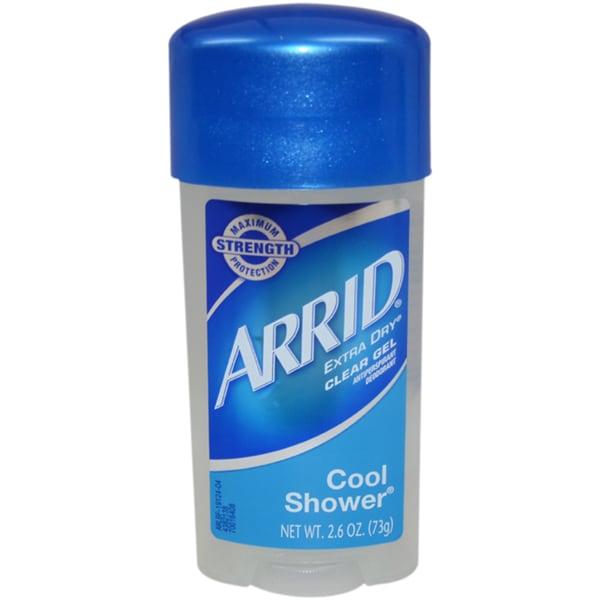 Arrid Extra Dry Cool Shower Clear Gel Deodorant Stick