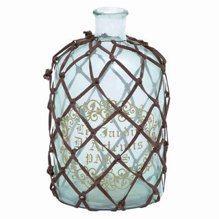 Elegant Antique Netted French Bottle