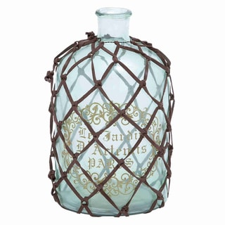 Elegant Antique Netted French Bottle