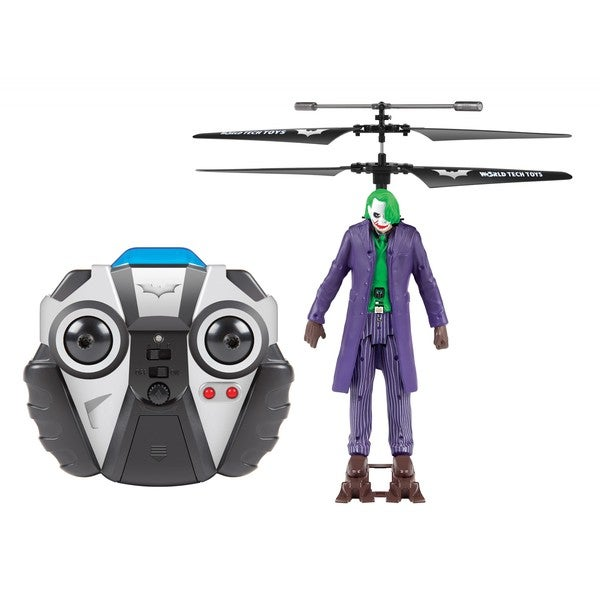 World Tech Toys DC Comics Joker Helicopter