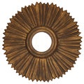 French-style Sunburst Lille Mirror