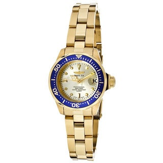 Invicta Women's 'Pro Diver' Stainless Steel Watch