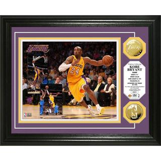 Kobe Bryant Gold Mint Coin Photo Mint