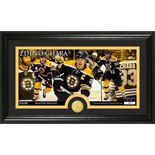 Boston Bruins Zdeno Chara Bronze Coin Panoramic Photo Mint