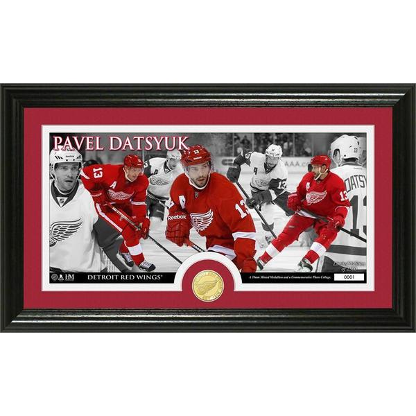 Pavel Datsyuk Bronze Coin Pano Photo Mint