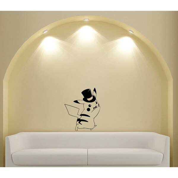 Japanese Animal Cylinder Pokemon Vinyl Wall Sticker