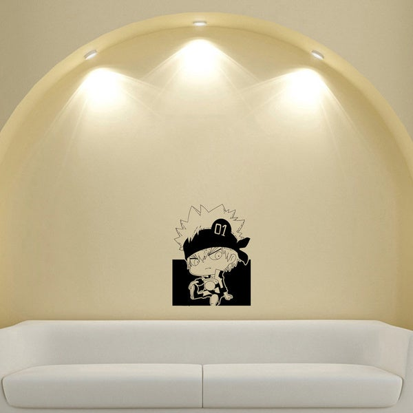 Guy Cap Anger Vinyl Wall Sticker