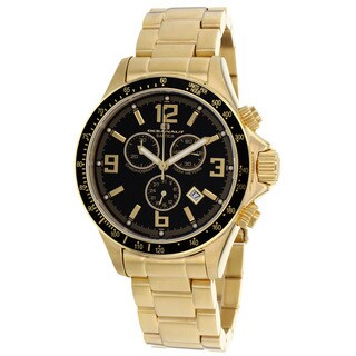 Oceanaut Men's Baltica Black/ Gold Watch