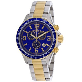 Oceanaut Men's Baltica Blue/ Two-tone Gold Watch