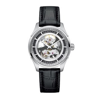 Hamilton Men's 'Jazzmaster Viewmatic' Skeleton Watch