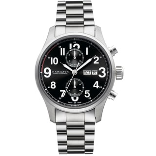 Hamilton Men's 'Khaki Officer' Automatic Chronograph Watch