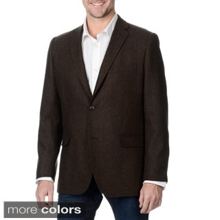 Greg Norman Men's Herringbone Wool Blend Sportcoat