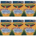 Crayola 8-count Washable Bold Markers (Pack of 6)