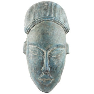 Vintage African Tribal Mask Wall Decor (India)