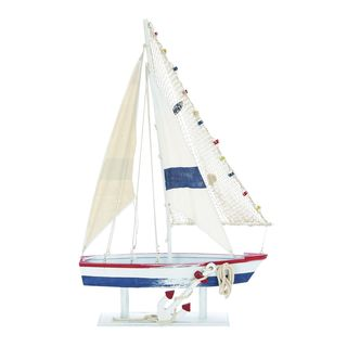 Wooden Decorative Sailing Boat