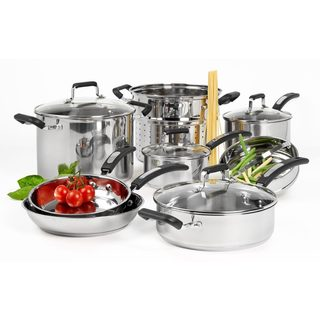 Denmark 12-piece Stainless Steel Cookware Set