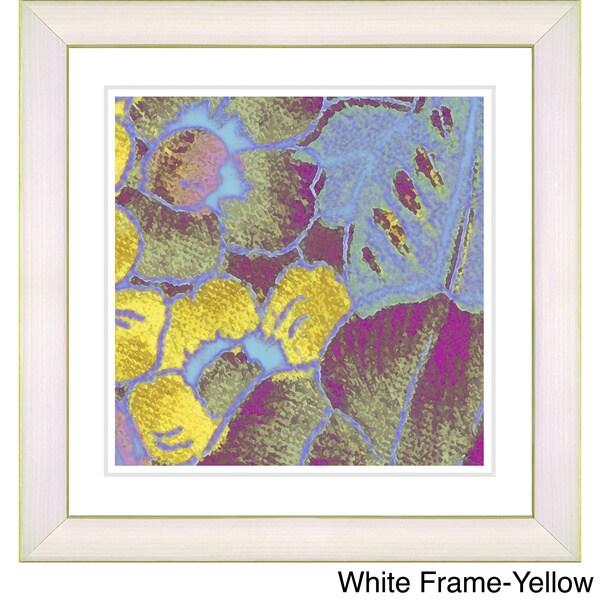 Zhee Singer 'Pastel Floral Conjucation' Framed Art Print