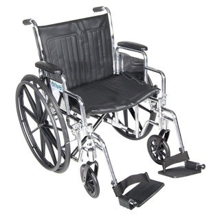 Chrome Sport Footrest Wheelchair