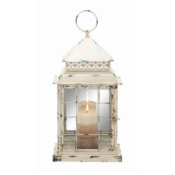 Antique Design Metal Glass Lantern