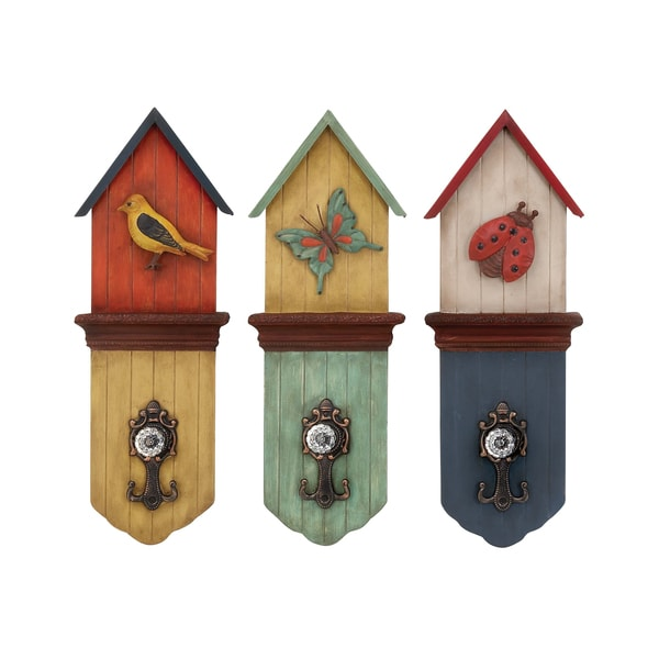 Assorted Wall Hooks (Set of 3)