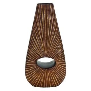 Environmentally Friendly Polystone Vase