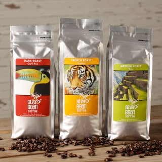 Silver Bean Whole Bean Coffee 3-bag Sampler