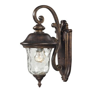 Lafayette Regal Bronze 1-light Outdoor Sconce