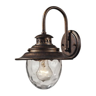 Searsport Regal Bronze 1-light Outdoor Sconce