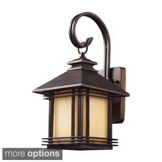 Hazelnut Bronze 1-Light Outdoor Sconce